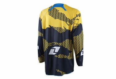 maillot one industries gamma blamo noir jaune m