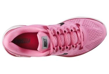 NIKE Chaussures LUNARGLIDE+ 5 Rose Femme