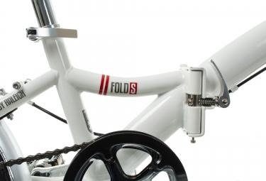 Vélo Pliant Raleigh FOLD-S - 20'' Single Speed Blanc