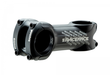 RACE FACE EVOLVE MTB Stem 6°, 31.8mm, Black