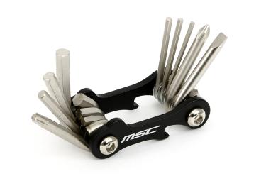 Multi-Outils MSC 10 FONCTIONS Noir