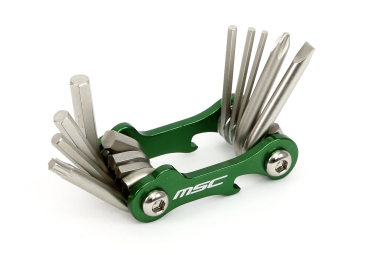 Multi-Outils MSC 10 FONCTIONS Vert