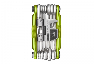 Multi-Outils CRANKBROTHER M-19 Vert