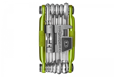 Multi-Outils CRANKBROTHER M-17 Vert