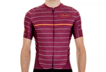 ISANO MARINIERE Short Sleeves Jersey 2016 Red Wine