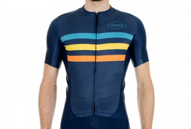 ISANO STRADA CLASSICA Short Sleeves Jersey 2016 Dark Blue