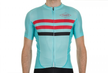 maillot manches courtes isano strada classica vert xl