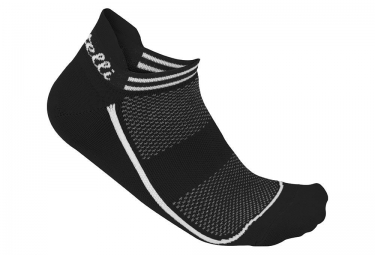 Castelli Invisible Calcetines Mujer Negro 39 41