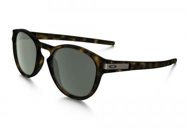 lunettes oakley latch marron gris ref oo9265 02