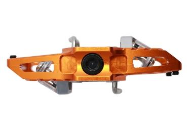 HT Klickpedale T1 Orange