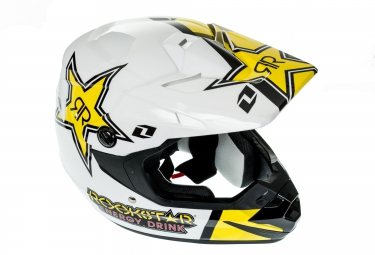 casque integral one industries atom phantom rockstar noir jaune xl 61 62 cm