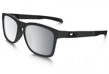 lunettes oakley catalyst gris chrome iridium ref oo9272 03