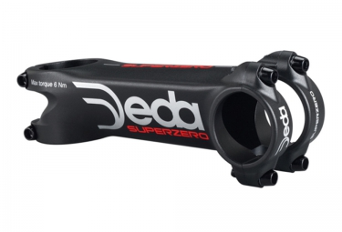 DEDA Stem SUPERZERO Black White Red