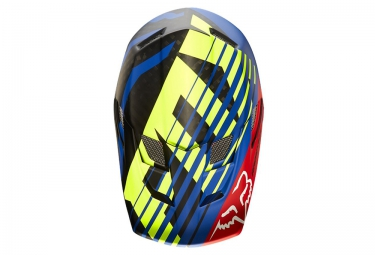 Casque FOX RAMPAGE PRO CARBON SAVANT MIPS Bleu Rouge