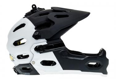 Doublon : 15029405-877-M - BELL 2016 Casque SUPER 2R MIPS Noir Mat / Blanc  M (56-59 cm)