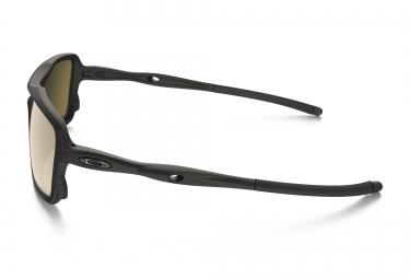 lunettes oakley triggerman noir marron iridium polarise ref oo9266 05