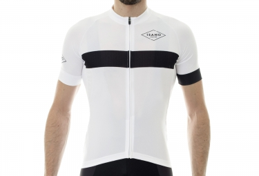 maillot manches courtes isano classique blanc xxl
