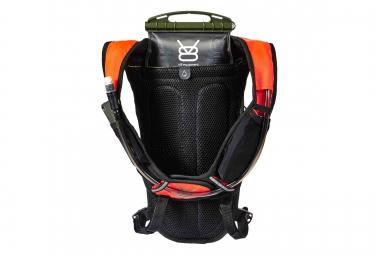 sac a dos v8 equipement ydr 4 4 noir orange