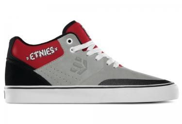 paire de chaussures bmx etnies marana vulc mt 30 year edition gris rouge 44