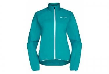 veste coupe vent femme vaude air jacket ii bleu m