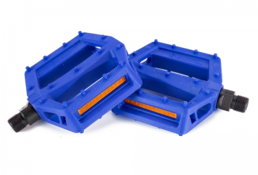 Pédales Plates SALT JR 9/16 Bleu