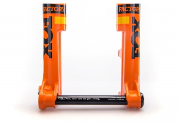 fourche fox racing shox 32 float sc factory fit4 29 kabolt 15mm 2017 orange 100