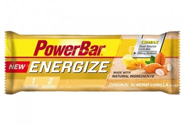 POWERBAR Barre ENERGIZE C2Max 55gr Vanille Amande
