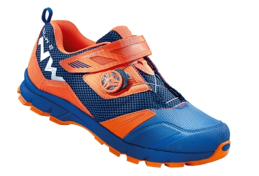 chaussures vtt all mountain northwave mission plus bleu orange 42