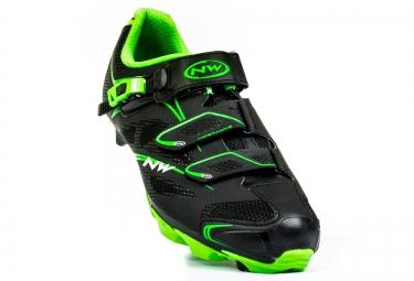 Chaussures VTT NORTHWAVE KAIMAN SRS Noir/Vert