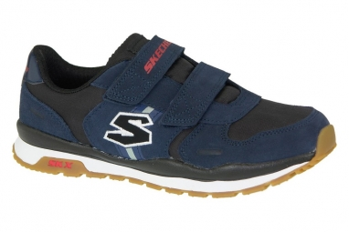 Skechers throwbax 97360 nvbk bleu 29