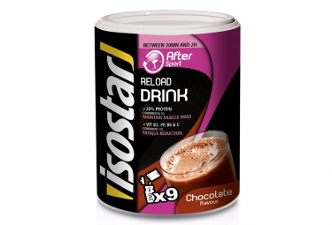 ISOSTAR After Sport Reload Drink Chocolate