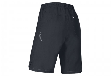 Short avec Peau Femme GORE BIKE WEAR E LADY 2in1 Noir