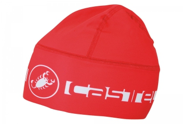 Sous casque castelli viva thermo skully rouge