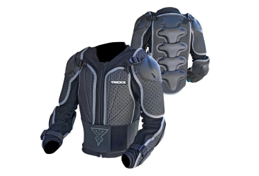TRICK X Kids Body armor PIB Black Grey