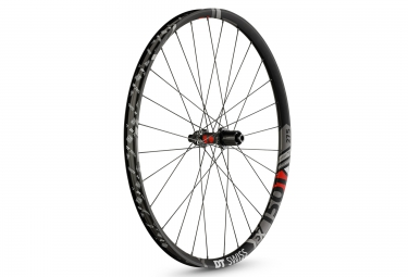 Roue arriere dt swiss ex 1501 spline one 27 5 largeur 30mm 12x142 mm center lock noir