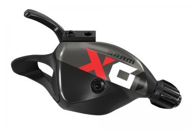 commande de vitesse arriere sram x01 eagle trigger 12 vitesses noir rouge