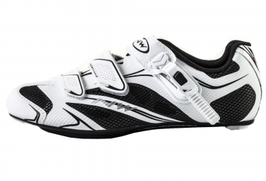Chaussures route northwave sonic srs blanc noir 45