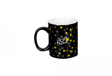 tour de france mug ceramique noir 2016