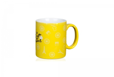 tour de france mug ceramique yellow 2016