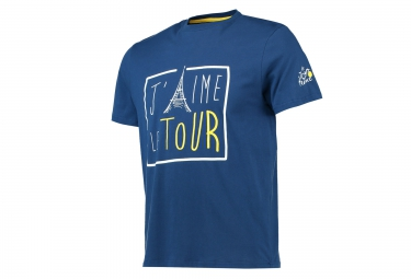 t shirt le tour de france j aime le tour bleu xl