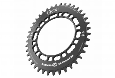 Rotor plateau cyclo cross qcx1 bcd110 5 branches noir 38