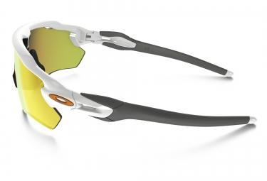 lunettes oakley radar ev path blanc jaune iridium ref oo9208 16