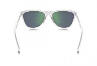 Lunettes Femme OAKLEY MOONLIGHTER Blanc - Vert Iridium Polarisé Réf OO9320- 06 0bf05e9fa81c