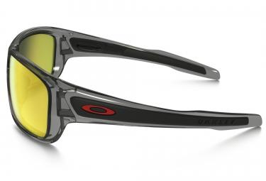 Lunettes Oakley TURBINE grey yellow Polarisé