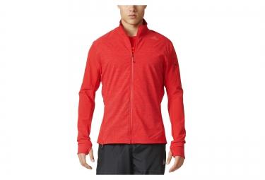 veste thermique adidas running supernova storm rouge l