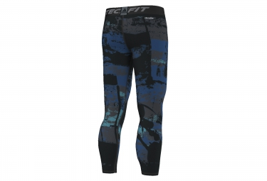 Collant Long ADIDAS TECHFIT BASE Bleu Noir