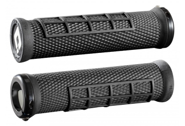 Pair of Grips ODI ELITE FLOW LOCK-ON Black