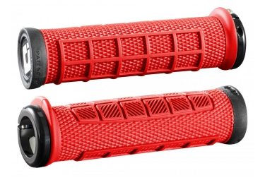 Pair of Grips ODI ELITE PRO LOCK-ON Black