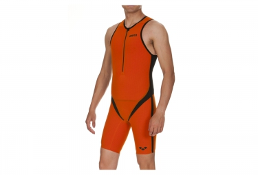 Combinaison de Triathlon ARENA CARBON PRO Orange Noir