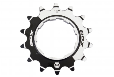 BOX PINION Aluminium Cog Chrome Black